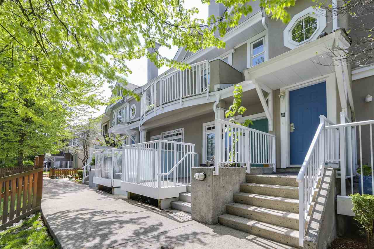 This beautifully renovated townhouse in central Poco is like a catalogue of all the features a busy professional couple would demand while providing the comfort and space needed to start a new family! The main floor was converted to a full open concept with strata approval at the same time as new appliances, cabinets, flooring and carpeting was fitted. The bathrooms are modernized, and the home even has a fresh coat of paint. This executive townhome includes a double garage, led lighting (partial), humidistat, gas fireplace, 2 sundecks and vaulted ceilings on the upper floor. Enjoy a his and hers walkthrough closet, jack-and-jill ensuite bathroom and of course, that modern entertainer's floorplan. This won't last long.