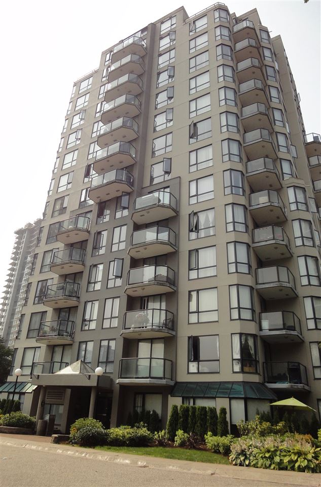 INVESTOR ALERT!  A little cosmetic updating and you can watch your investment grow.  Intimate 12th floor condo in Westminster Towers with bedrooms on opposite sides of living space, two full bathrooms (one ensuite), in-suite laundry, partial view of the Fraser River, & virtually everything you need and want at your doorstep: Skytrain, Douglas College, theatre, shopping, off-leash dog park, and so much more.  Building re-piped 2016, exterior repainted 2012, and strata council proactively engaged.  Parking Stall # 274.     OPEN SAT & SUN, SEPT 22 & 23, 2:00-4:00 PM.