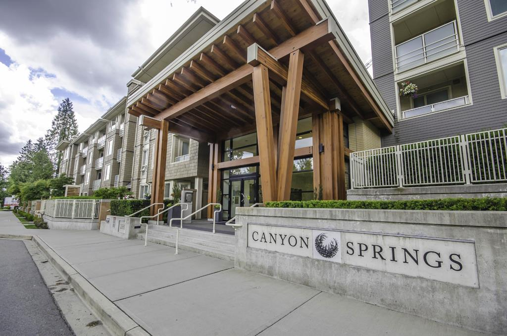 Welcome to Canyon Springs by Polygon, one of Lynn Valley's premier developments located in the heart of the vibrant Lynn Valley Town Centre. This efficient open 2 bedroom floor plan features wonderful architecture and finish, 9' ceilings, over sized East facing covered deck and a bonus 2 PARKING STALLS and 1 storage locker. The excellent fully rain screened building features a full gym, impressive lobby, bike storage and full wheelchair accessibility. 2 Pets allowed and unlimited rentals allowed. Parking stalls 30 & 31, Storage Locker 66 in room 6.