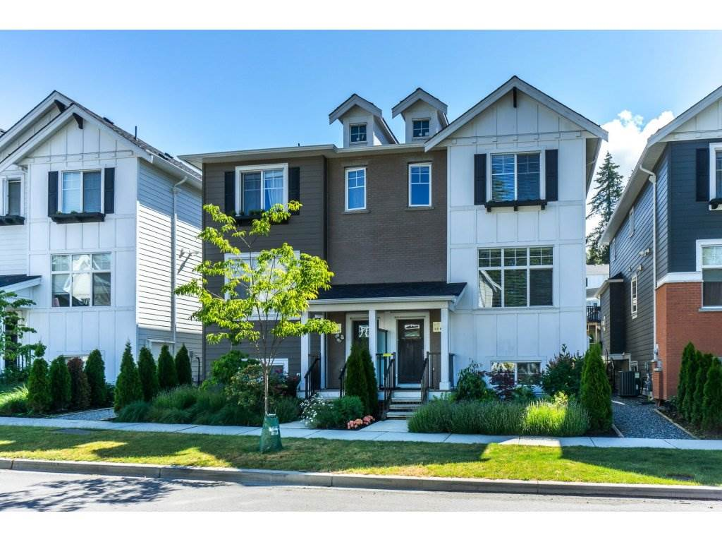 FREEHOLD TITLE - NO STRATA! Excellent South Surrey Location - Elevate at the Hamptons-a high end 1/2 duplex. Designed & constructed by Legendary Developments. Entertaining made easy with this open plan concept. Gourmet kitchen with high end features:quartz countertops, maple shaker-style cabinets, soft closing hinges & drawers, gas stove, under-mount sinks. Air Conditioning. Low Maintenance Backyard - private oasis with hot Tub and curtained Gazebo, easy care, no grass, potted plants. Automatic sprinkler system. Allows for lock and go without the worry of yard maintenance. Detached single garage, covered spot (for car or boat), parking space for 4. Easy access to transportation, shopping, recreation, entertainment & outdoor activities. Three level allows for privacy as well. Large recreation room in the fully finished basement - great for kids play room or entertainment. MOVE-IN READY!  Open House SAT. June 23 & SUN. June 24 1-4pm.