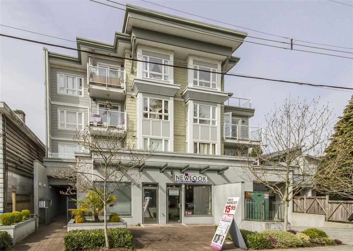 Excellent location! Rentals allowed! Very Central! Minutes to downtown, Park Royal shopping centre and Grouse Mountain. This 832 sf 2 bedroom, 2 full bathroom corner unit condo has great open floor layout with separated bedrooms. Gas fireplace, in suite laundry, over sized dining area, high countertop to enjoy breakfast, large window and access to the deck are great features. The Master bedroom includes a 4 piece ensuite and opens to a balcony to enjoy the city lights, 2nd bdrm also very good size. Gardenia is 13 years old with a 17 unit boutique style building, close to all amenities, public transit and Lions gate bridge. 1 convenient parking stall and a large storage locker is included. Great unit.