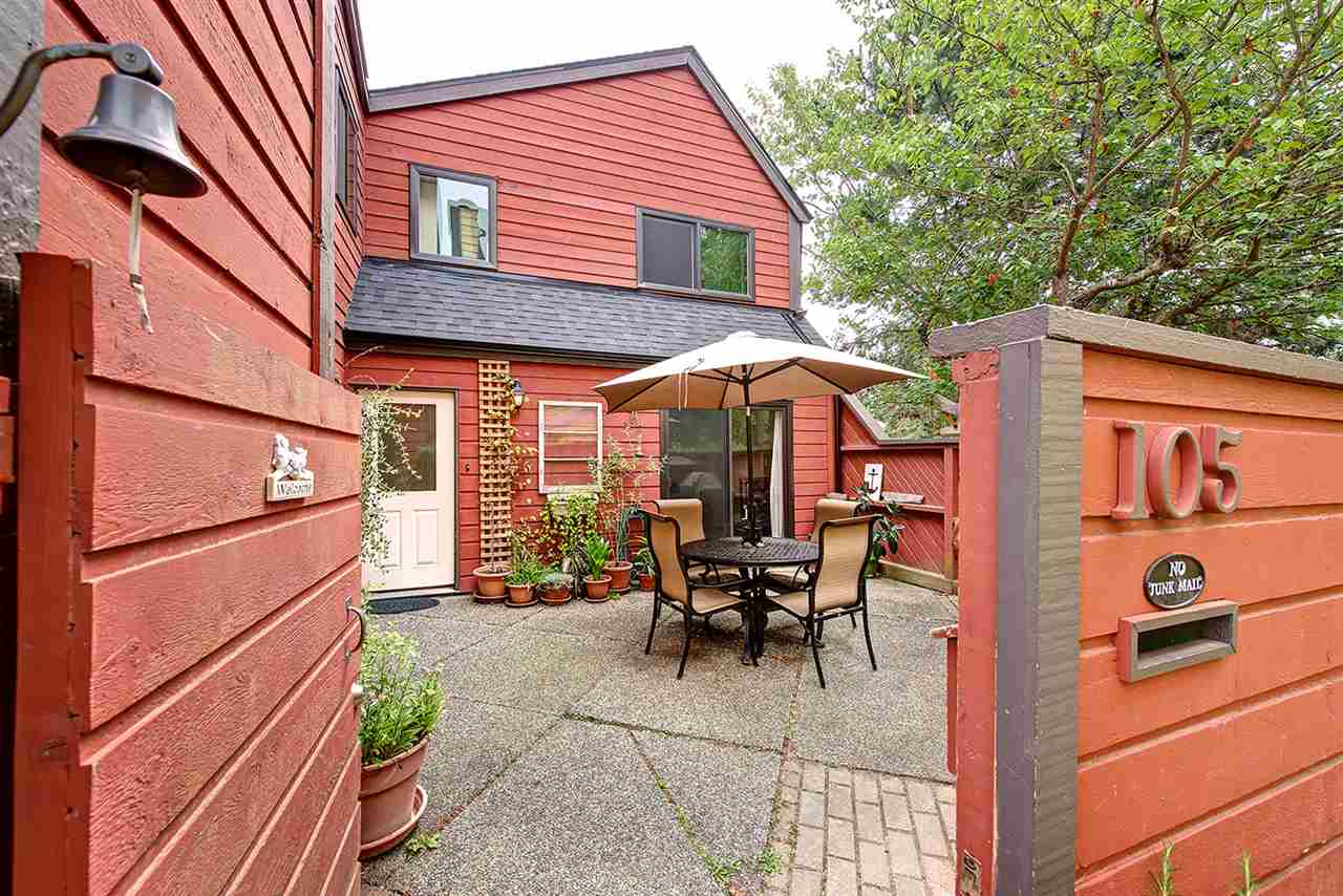 Best unit in the Sundial! Duplex style 3 bedroom on the outside of the complex with private south west exposure. Lots of updates include kitchen and appliances, main bath with extra deep soaker tub, flooring and new windows 3 years ago. Well run strata has recently completed new roofs in the complex and exterior painting. Prime location for walkability to town center, bus stop, community center, parks and schools. It is very rare to find a 3 bedroom in the popular Sundial complex. Pets are allowed.
