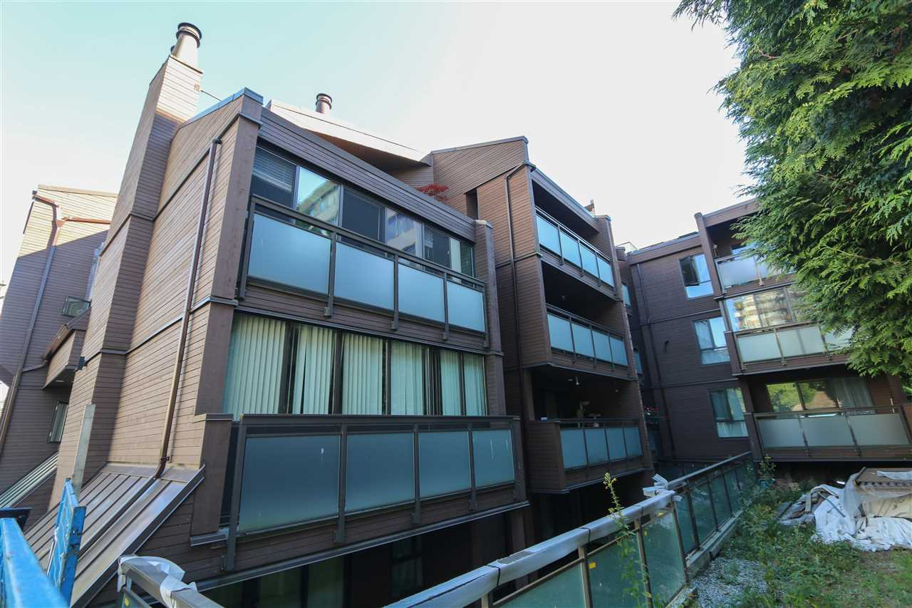 Superior WEST OF DENMAN location. View this cozy 1 bedroom with a 18 x 6 west facing balcony & large living room. This home needs some TLC. Building re-plumbed. Pet friendly building just 2 blocks to Stanley Park. Building undergoing upgrades. Includes 1 parking and 1 locker.