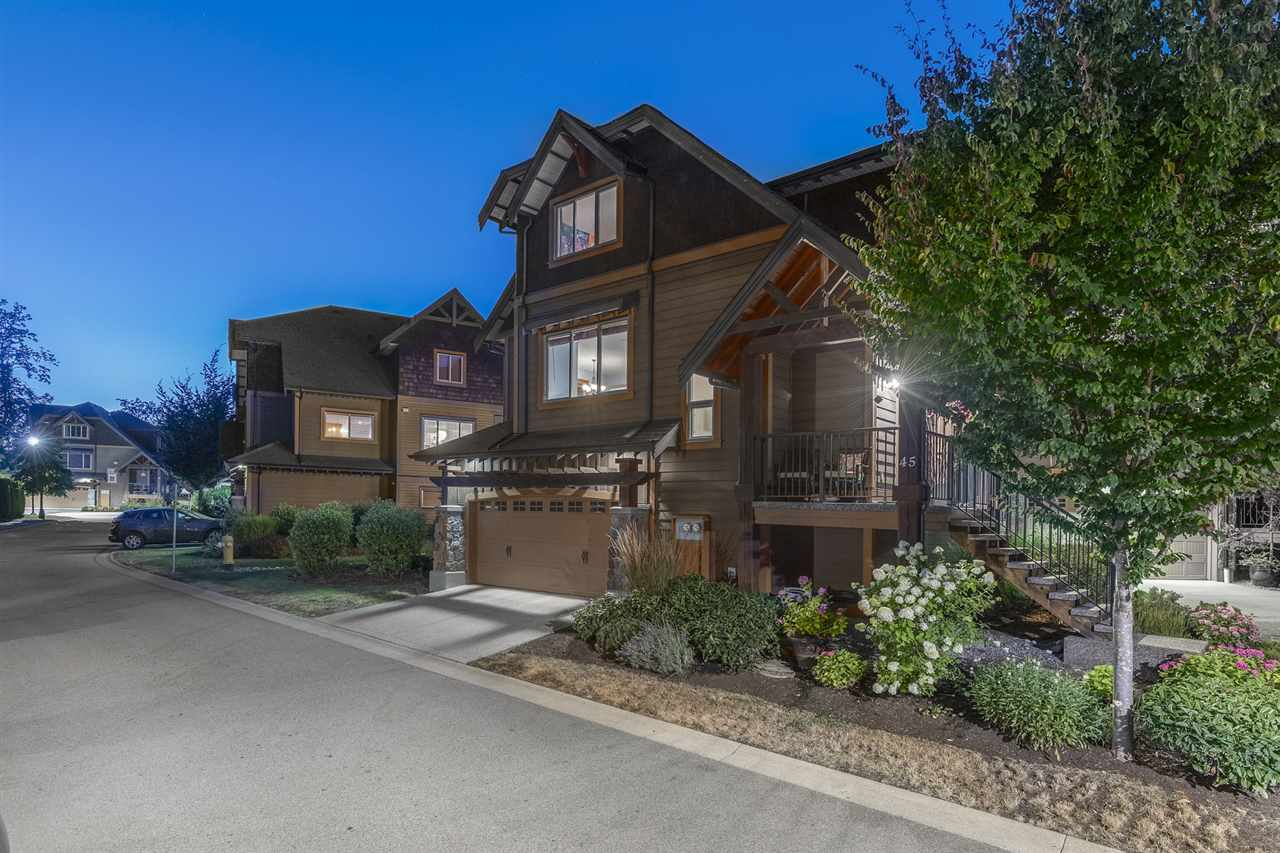 TRAILS EDGE, This Alpine inspired community boasts timber framed exteriors with stone accent & solid fir exterior doors. Featuring a great room with stonecast fireplaces, stain grade millwork throughout, and a large covered sundeck with walk out to the beautifully landscaped yard. Functional floor plan boasts a flex room/office with 14' ceiling, 3 beds up, and a fully finished basement (great for media room) BONUS- crawl for extra storage. This 'D' plan the only plan in Trail's Edge to offer a formal living and dining room too. Connected to a network of over 3 kilometers of trails, walking distance to the Albion Coffee Shop, nearby Bruce's Market for groceries and fresh seafood! Two car side by side garage too! All measurements are approximate, Buyer to verify if important to them.