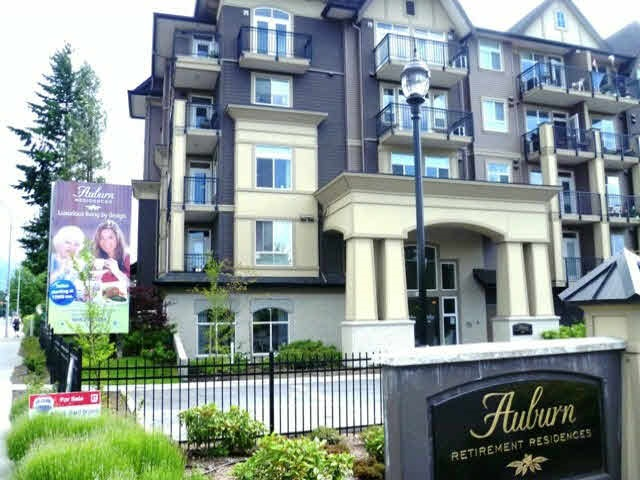 This is your unique opportunity to save $$$$ on the cost of retirement living by owning your own unit. A great investment in independent living! The bright and spacious one bedroom plus den condo is located in one of Chilliwack's best complexes.  Mandatory Service Package includes breakfast, lunch & dinner for $1235/mth. There is a media room, diner, hair salon, social meeting lounge and secure underground parking. Unit is air conditioned & has in-suite laundry. You will enjoy the active lifestyle and friendly people.