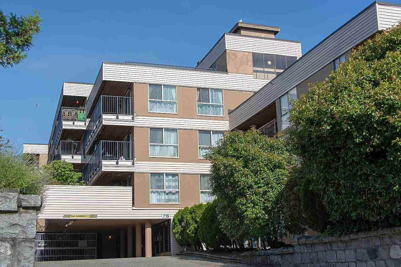 Spacious 2 Bedroom + Den! AT VISTA ROYAL on the border of Downtown New West, East facing suite is on the quiet side of the building. Recently renovated features wide-plank engineered oak floor, huge balcony, and stainless steel appliances. BUILDING UPDATED recently completed including; new roof, hallway carpeting, boiler and hot water tank , sundecks and new sliding doors and windows. PET FRIENDLY building allowing 2 pets. Includes 1 parking + 1 storage locker outside your suite. Maintenance fee includes Heat & hot water. Conveniently located close to shopping, SkyTrain, right across from Douglas College, 5 Rental units allowed currently at max.