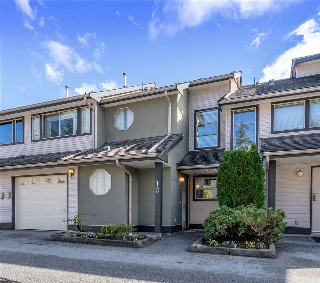 WOW!! HARD-TO-FIND WESTSIDE TOWNHOME in family oriented KICHLER STATION, ALMOST 2300 SQFT only a few minutes to shopping, schools, and the Golden Ears and Pitt River Bridges! Desirable 2 storey + bsmnt layout w/ 3 bdrms up and loads of room in the finished bsmnt for rec room/theatre room/den/home office/teenager hangout or whatever! Main floor features fantastic living rm w/ gas f/p and soaring vaulted ceilings, well-equipped kitchen, and dining area w/ easy access to the backyard.  Mbdrm has 3pc ensuite, and main bath has been partially renovated, including newer bathtub, bath walls, tiles and fixtures.  Big laundry rm conveniently located up. Fully fenced backyard features deck for the BBQ, lots of grass, and garden beds. THE COMPLETE PACKAGE! OPEN HOUSE SAT OCT 20 2:30PM-4:30PM