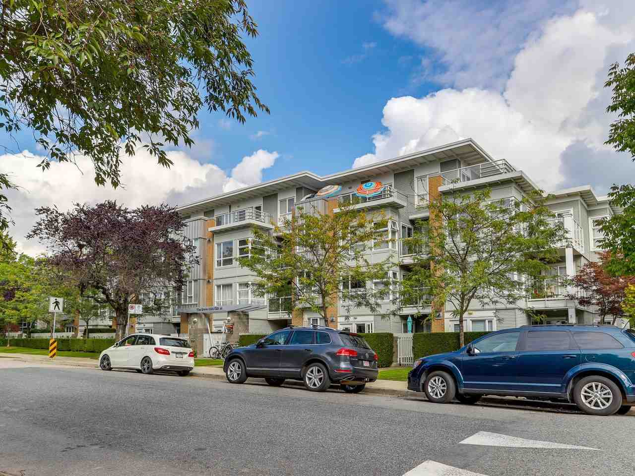 2 Bedroom + 2 Bathroom spacious apartment in a very popular building within walking distance to Oakridge Centre and the Canada Line.  The suite is over 1000 sq.ft. with 2 large bedrooms on separate sides of the apartment.  Bonus flex room offers ability to also have a home office.  Oversized open kitchen. Bright apartment with large windows, 9' ceiling, gas fireplace, open balcony, ensuite with soaker tub and separate shower.  East facing. Building is directly across for Tisdall Park.  Short walk to Jamieson Elementary, Langara College.  Eric Hamber Secondary.  Immediate possession is possible. Easy to show.