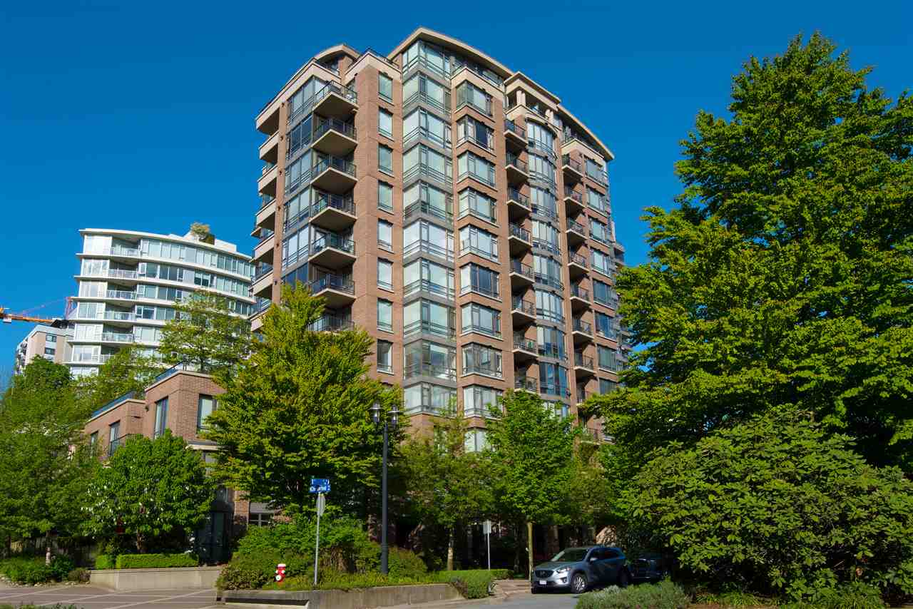 Looking for a unique place to call home? You have found it in the prestigious ONE PARK LANE - tastefully renovated SE corner unit with own separate gated entrance & patio, adjoining to no immediate neighbours on this floor. Features include breathtaking 11 foot ceilings, engineered wood floors, gym, theatre, lounge & concierge service. Building is pet friendly & investor friendly, min rental 12 months. You will absolutely fall in love with this one of a kind EXQUISITE HOME in a quiet corner of the vibrant & chic Lower Lonsdale.  the place to be on the northshore!!  You do not want to miss  this one.