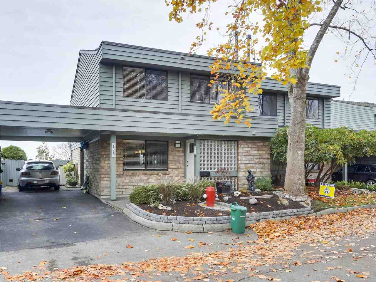 """An Absolute Gem, WATERFRONT End Unit in Popular """"Edgewater Park"""" along West Richmond's famous dyke walk! This home has been totally and expensively updated: Dream kitchen with Island & Granite Counters; Gas fireplace; frosted doors; french doors to patio; recessed lights; new ceilings; crown moulding, and a STUNNING , enlarged Main bathroom. Master Bedroom has also been enlarged and includes extra window to take advantage of the gorgeous Island and sunset views! Beautiful and large Backyard is excellent for entertaining. Up to 3 """"Tandem"""" Carport parking spots. Nicely landscaped front yard. Quiet Location within the complex. Must be seen to be appreciated, this really is a special unit! OPEN SUNDAY, NOV 18, 2 - 4"""