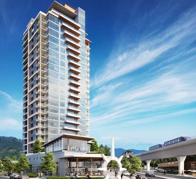 The gorgeous Burquitlam Capital complex developed by Magusta. This is a top-knotch development at a highly desirable location. High-quality design and craftsmanship. Close to the Burquitlam Skytrain Station of the Evergreen Line. SFU is a 5 minute drive away. Golf course, shopping mall, parks and hiking trails are all near by. Don't miss out on this fantastic opportunity to live in the heart of West Coquitlam's newest community. The floor area is 631 sf (plus balcony 61 sf) according to the developer's preliminary strata plan and 643 sf (plus balcony 56 sf) according to the developer's floor plan. Assignment of Contract and non-registered strata property. Estimated completion April-June 2019. All information & measurements are approximate to be verified by Assignee.