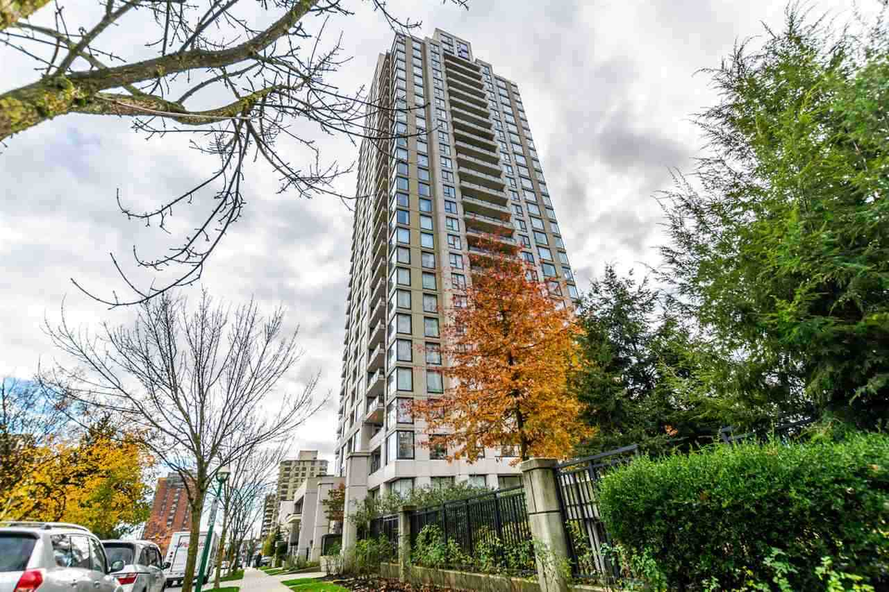 YOUR SEARCH IS OVER!  MOVE IN READY ? Clean and bright and spacious 1 BDRM unit at EMERSON at Highgate.  Open concept with granite counter tops, stainless steel fridge and gas stove (gas is included in monthly fee), built in microwave and breakfast bar with pendant lighting.  Electric fireplace and in suite laundry.  Large balcony to enjoy your summer BBQ?s or morning coffee.  1 parking plus extra large storage locker.  Pet friendly.  Steps to Highage Village and new Edmonds Community Centre, library and all kinds of shopping.  Short walk to Edmonds Skytrain.  Amenities include gym/hot tub/party room.  Call today for your private viewing.