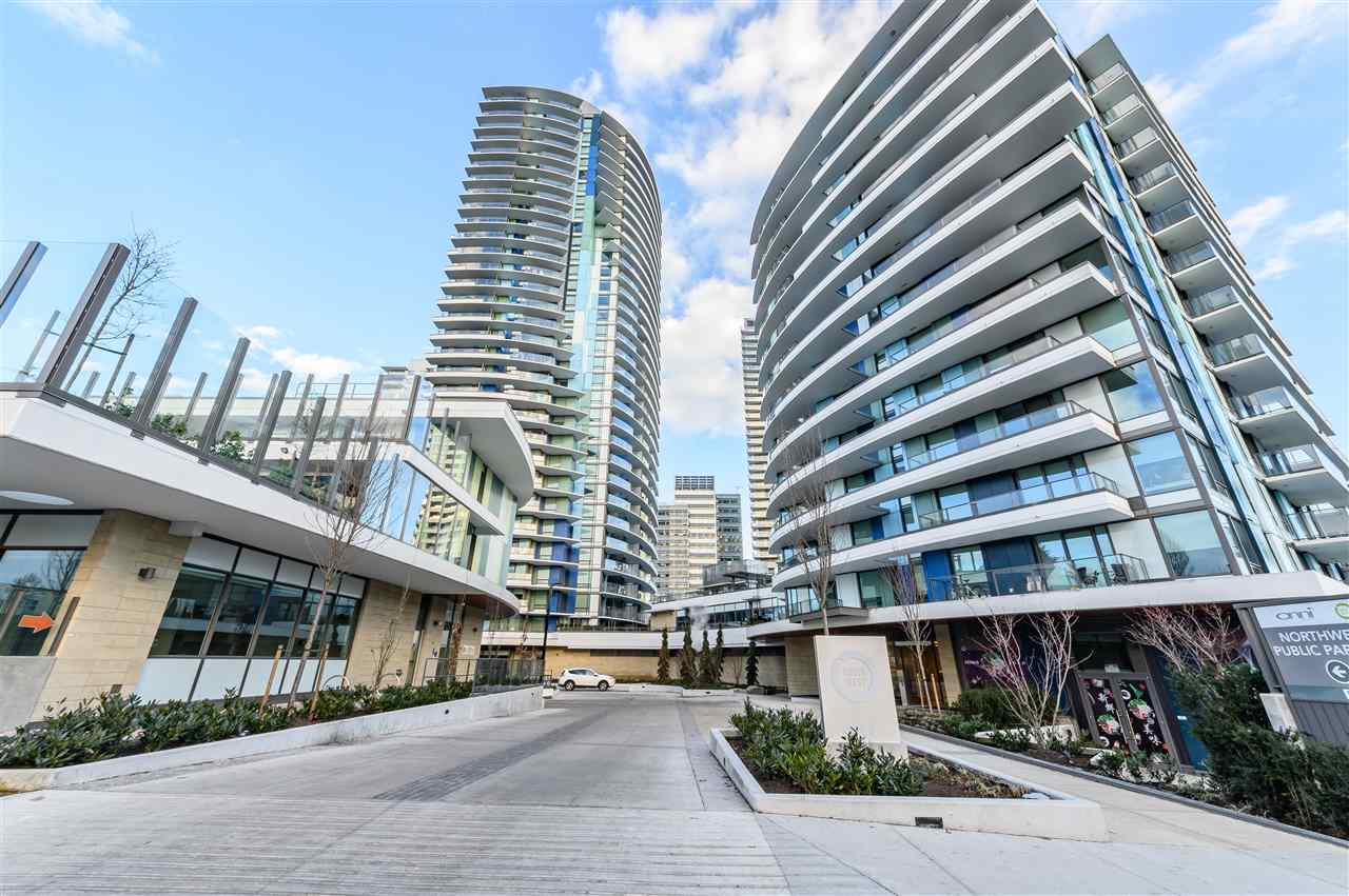 QUIET & CORNER UNIT! Built by ONNI! 2018 Reader's Choice Award Winner - NORTHWEST  Located in the most prestigious location on Cambie corridor with everything in the area. Steps away from T&T, BC Liquor, banks, Cineplex, Marine Drive skytrain station and restaurants. Enjoy the UNOBSTRUCTED north shore MOUNTAIN VIEW. Located on the quiet side of the building which doesn't face the busy intersection. Unit has A/C and floor heating in bathroom. Designed with ZERO wasted space. Amenities include an exercise facility, party & theatre room, YMCA daycare, a rooftop area for BBQ and 24 hours concierge service. School catchment: Sir Wilfrid Laurier Elementary and Churchill Secondary. A block away from transit that will take you to Langara or UBC. OPEN HOUSE SAT/SUN 2-4PM.