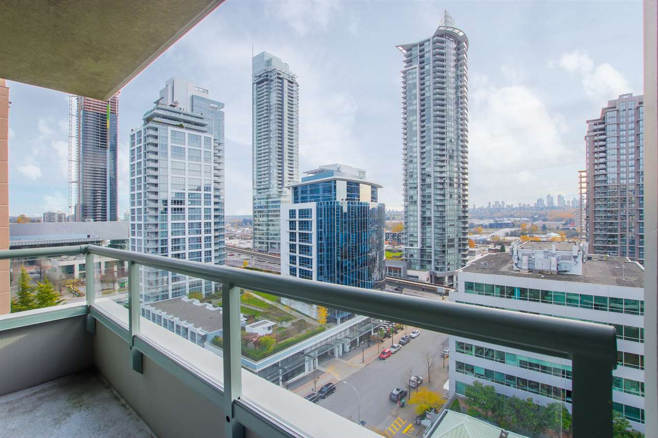 """GREAT LOCATION - BRENTWOOD PARK! This bright BOSA built SE corner suite at Buchanan North has an open layout with a M $ southern view. The kitchen also has a S view window, plenty of cabinets & granite counters, new s/s appliances. Spacious master bedroom is fit for a """"king & Queen"""" enhanced by ample closets and ensuite bath. The large balcony is great for year round BBQ & outdoor dining. This complex is well maintained, allows 2 domestic pets & rentals with restrictions. Enjoy the exercise centre, hot tub & steam room, the location is conveniently located next to Madison Centre, Brentwood Mall, Save -On Foods, Skytrain Station, bus loop, numerous restaurants, Banks, many personal/health Services,  Everything you need is here!"""