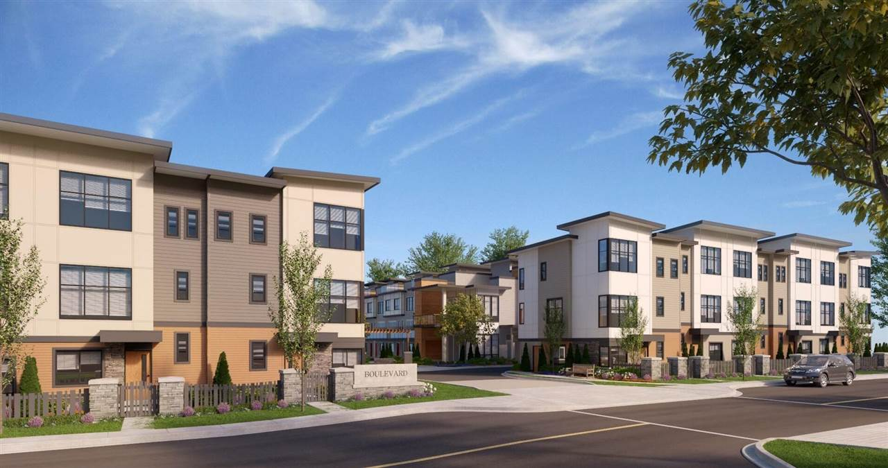 BOULEVARD ASSIGNMENT SALE - Situated in heart of Willoughby Area, newly built and completing at end of May, 2019. Move into NEW townhouse without wait! Spacious 3 bed + 3 bath + flex = B plan. Open concept living area with S/S appliance, modern white shaker style kitchen cabinet with quartz countertop & gas range. 3 good size bedroom with 2 full size bathroom for family to use. Flex located at downstairs with big window. Side-by-side double covered garage. Amenity in walking distance; Richard Bullpitt Elementary, Willoughby Elementary, Willoughby Town Center, Yorkson Community Park etc. Easy access to #1 HWY and Carvoth Exchange. MUST SEE!