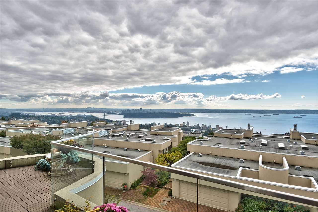 Wow, a 2,900 sf townhome with panoramic city/ocean views! Some recent updates include: kitchen, master ensuite, skylights, paint and lower level addition (all done w/permits). Westpointe is fully rainscreened and still under warranty, this is a worry-free gated complex. The floor plans are big and open at Westpointe, lots of room for families or those looking to downsize that still want some space. The basement floor was added on giving you a rec room/hobby room and 3 piece bath. The garage is huge, lots of storage space and parking. The views are completely unobstructed from both levels with patios off the main and lower floor. This is the premier development in Folkestone. 3 bed/4 bath, Pets allowed (2), sorry no rentals.