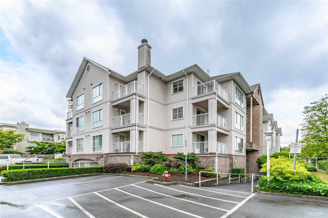 SPRING COURT. Rare opportunity to be part of this well maintain condo complex community in the heart of Guildford. Walking distance to Guildford Town Centre, that has wide variety of shops and restaurants. A few walks away to Guildford Recreation Centre and Guildford Library that offers amenities for you and your family's enjoyment.�Fully renovated in 2017. This spacious condo was designed with functional layout optimizing the square footage to offer comfortable living.�Quartz countertops, stainless steel appliances, and laminate floors complete the unit. PLENTY of Natural light with a outside patio. This unit also has insuite front-load washer and dryer, cozy gas fireplace, and plenty of insuite storage. 1 storage locker + 1 underground parking stall. OPEN HOUSE: Sun (July 14) 2-4 PM.