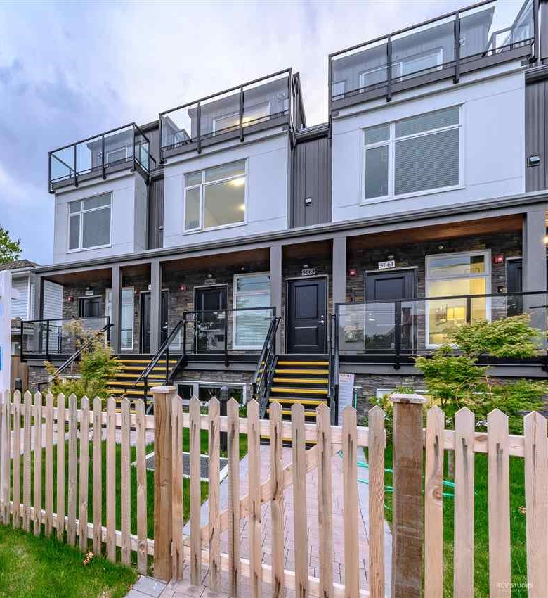 INCREDIBLE VALUE!! Welcome to this stunning-built contemporary design, beautiful 2 level, 3 bedrooms brand new townhome! Located in the heart of Vancouver?s desired Norquay Park neighbourhood. Close to Kingsway, walking distance to shops, restaurants, sky train station and bus stop. Functional layout with quality finishes, quartz granite counter top, laminate flooring, stainless steel appliances and much more! Also features a spacious patio to enjoy a cup of coffee with a beautiful view. 2-5-10 Home Warranty will also give you a peace of mind! John Norquay Elementary and Windermere Secondary School Catchment. Call today to book your private showing!