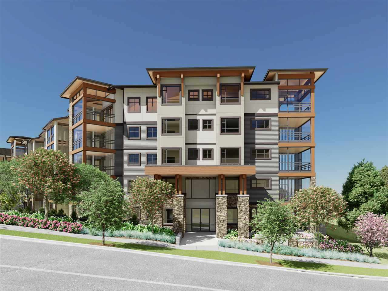 Finally here in South Surrey! This masterpiece condo from Quadra Homes will be ready by winter of 2020. This biggest unit offers everything you need for condo life. Very desirable executive 2 bedroom, 2 bath unit plus a den comes with quartz countertop, real wood paneled cabinets, energy efficient, high end appliances including energy-efficient heat pump, sound-dampening acoustic package, 2 parkings with one storage garage. Close to Crescent beach, Park & Ride, Hwy 99 and King George Blvd.