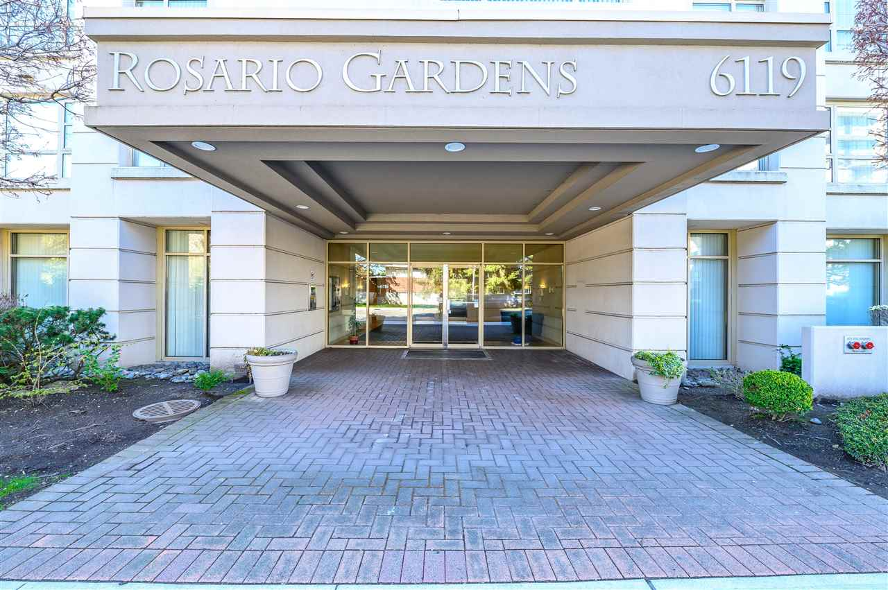 """""""Rosario Garden"""" - luxury concrete building at the downtown core of Richmond, 1321 sqft with fantastic Southeast panoramic view, extremely bright corner unit. This top floor penthouse with extra-large balcony on the main floor and two balconies on the above floor. 2 side by side secured parking. The building beside the Public Market and lots of grocery stores and restaurants. Walking distance to Richmond Center, Canada Line station and Minoru Community Centre. Open house from 2-4 pm on Feb. 16 (Sun)."""