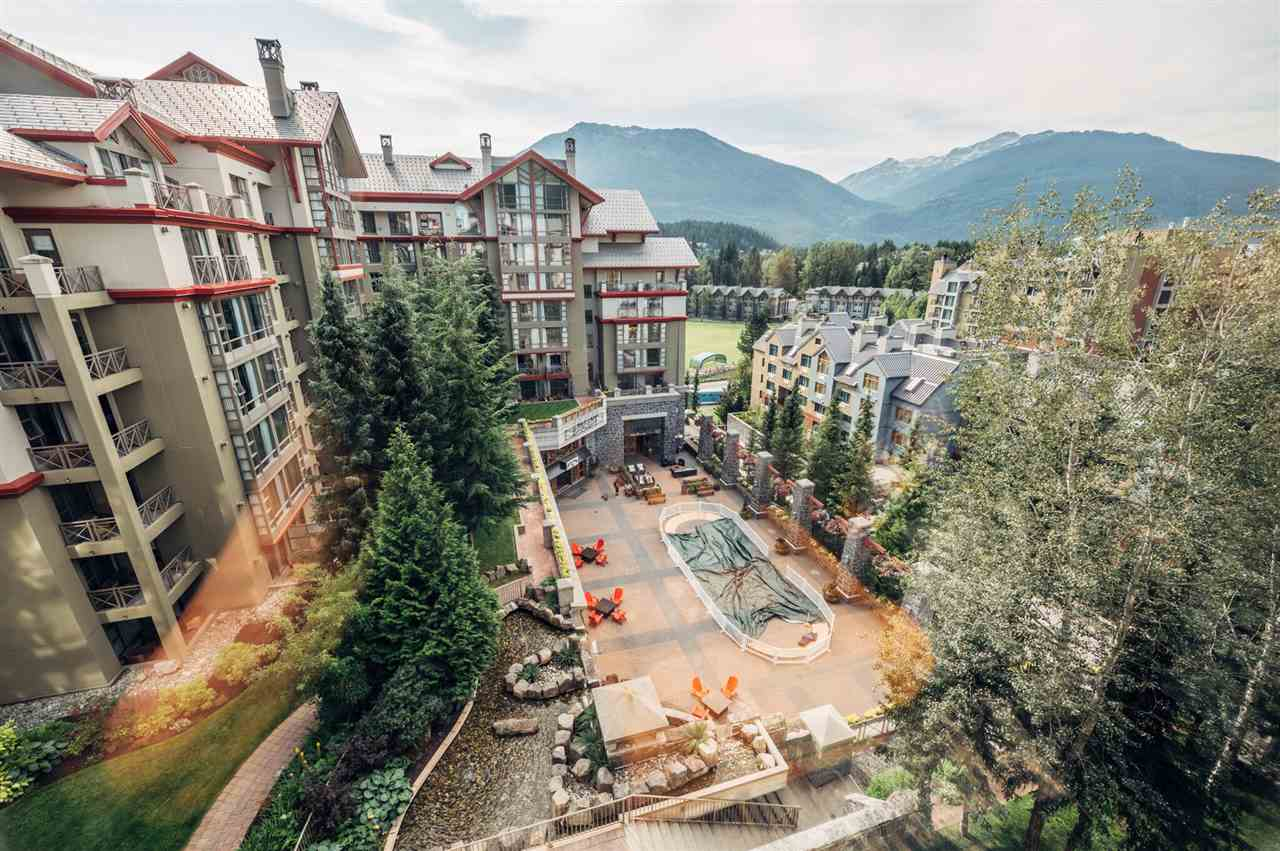 Views that are becoming legendary are enjoyed from this 8th floor, luxurious studio in the Westin Resort & Spa in Whistler Village.  Within the newly renovated, spacious 426 sf open concept plan are a king bed & queen sofa bed, floor to ceiling windows, seating area looking onto the cozy gas fireplace; a galley style kitchen with full size appliances to prepare a delicious meal for your family; as well as a soak in the upgraded bathrooms that feature an organic welcome design complemented by their signature amenities.  Not only a luxurious stay, the Westin suites are also a solid investment.  Ask for our full package of information to look at the returns.  This ski in/out Resort Hotel is brimming with thoughtful amenities.