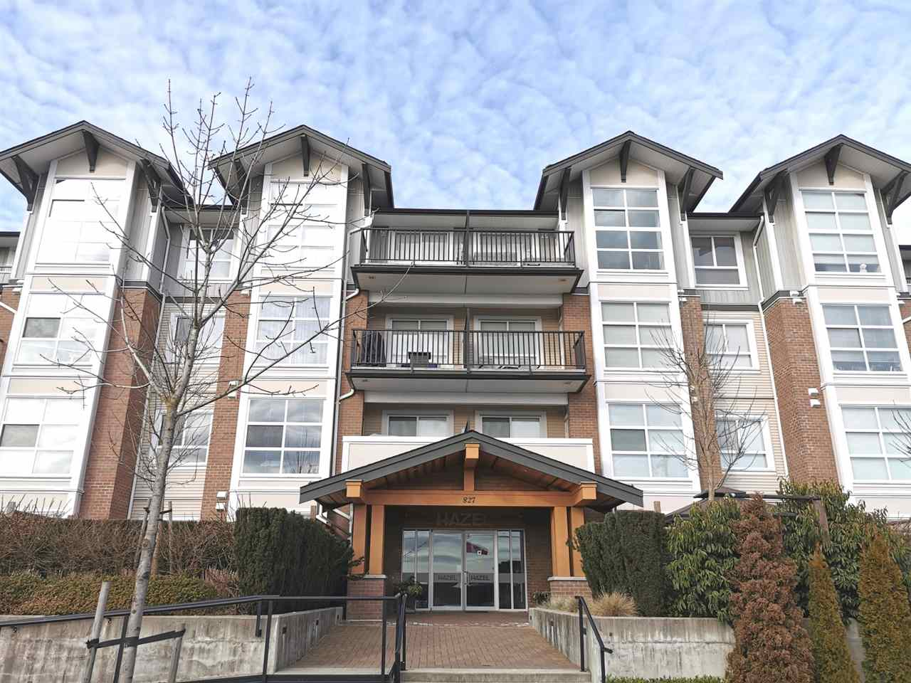 WELCOME to Hazel - Prime location in the heart of West Coquitlam. This sweet home boasts 9' ceilings, a spacious bedroom, nice sized balcony, open concept layout, with polished quartz countertops, stainless steel appliances, soft closed cabinetry and electric fireplace. Driving 20mins to BCIT or SFU. Minutes away from great local shops, community parks, restaurants & golf courses. 1 parking and 1 storage included.