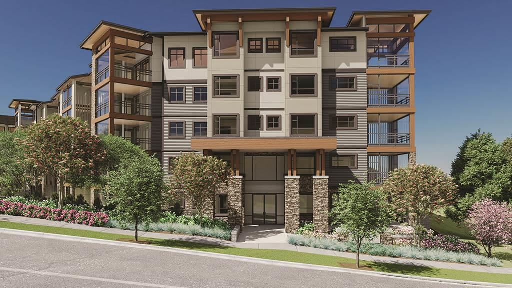 Luxurious FOREST RIDGE by Quadra Homes. Minutes from Crescent Beach, South Surrey Park & Ride and Hwy 99. This 1,213 SF suite has 2 bedrooms +den and 2 baths, Large 262 SF retractable glass solarium (+ gas connection for a bbq), perfect for year round entertaining! Gourmet appliances including a 5 burner double oven, quartz countertops, white shaker cabinets, energy efficient heat pump (AC & heat), 9' ceilings, sound dampening acoustic package & more! 2 underground parking stalls and a private storage garage included (with an electrical outlet capable for car charger).