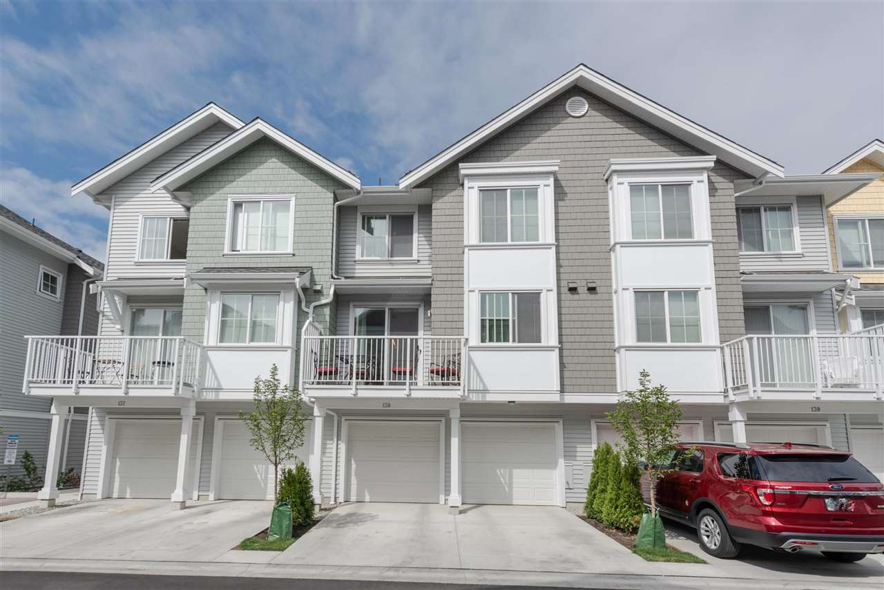 This like new 3 bedroom & flex 2.5 bathroom home is built by Polygon's Fairwinds, a collection of townhomes in the master planned community of Hampton Cove. Discover a seaside inspired community of 147 townhomes nestled between a golf course & yacht club in the picturesque town of Ladner. This home features distinct seaside architecture, spacious modern kitchen, spa-inspired bathrooms & the space needed for growing families & entertaining guests.