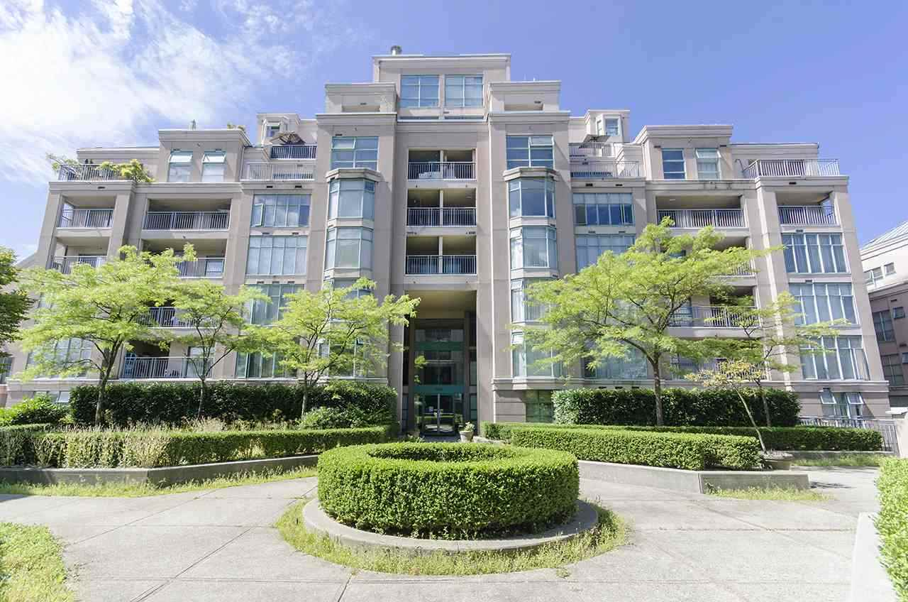 LEAKY CONDO, NO FINANCING. MUST PAY ALL CASH. Gardenia Village's one of a kind unit. 3 bedrooms, 2 baths +den, on the quiet side of the building over looking into the court yard gardens. SW facing corner unit, spacious layout w/ 1,227 sqft unit. Open living room & dinning room, also a separate kitchen w/ eating area. Updated with newer laminate flooring & paint. 2 balconies for summer BBQs. 2 parking spaces & a storage locker are included. Also gym & outdoor pool for your enjoyment. A great location by Commercial Dr, Renfrew Skytrain & Transit. School Catchment: Laura Second Ele & Vancouver Tech. Close to Trout Lake, Renfrew Community Centre, Safeway, all types of shopping & restaurants. Good for investment or living. Very well kept in great clean condition.