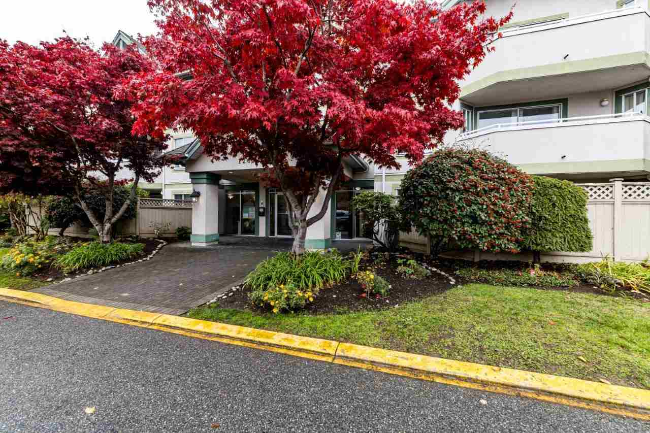 """AMAZING LOCATION & WELCOME TO COLLEGE PLACE! Located directly across from Kwantlen Polytechnic University, this spacious unit has 1108 sq ft of living space. Features two large bedrooms, 2 full bathrooms North facing onto quiet courtyard with fenced in patio for privacy, & private key access to Newton Athletic Park. Includes 1 parking stall & 1 storage locker. Conveniently located close to shopping, restaurants, walking distance to bus stop & easy access to highways & public transportation! Masks are mandatory. Can anyone say """"HOME SWEET HOME"""". **EASY TO SHOW ON WEEKENDS **"""