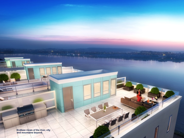 Pare Portofino, an affordable Dream Riverfront Project offer by DAVA Developments. This corner  garden level home has private exterior patio facing the courtyard and proximity to the Club House.   Innovative Design 2-Level Stacked Townhomes with Open Skywalk and Lookout Point . Spacious 3 and 4 bedrooms from 1350 to  2123sqft. Upper Level homes feature roof decks (561to 916sq.ft) with great  city, mountain and river  view. Chef's Kitchen with Fisher Paykel and integrated Miele appliances and wine fridge marble-finished quartz countertop. Airy 9 'ceiling, air conditioning for hot summer days. Two  underground parking stalls. Showings by APOINTMENTS ONLY.
