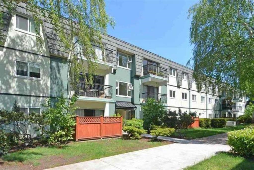 A very very beautiful & cozy leasehold apartment in prestigious Mayfair Court.Quiet and Bright facing south. South patio with thermo sliding doors.New window sills, new railings , new roof & new paint. Just renovated new floor, new paint inside, newer kitchen, bathrooms tile, bathtub. Very convenient location: Freshco & TD, RBC, West Coast Bank, many restaurants, post-office, etc. right across the street. Bus-stops steps away. Maintenance fee includes: ppty tax, heat, hot water, City utility fee . Well managed leasehold until 2088. Walking distance to Hugh Roberts Secondary and William Bridge Elementary. Good for investor and the first time home buyers. Move in condition.