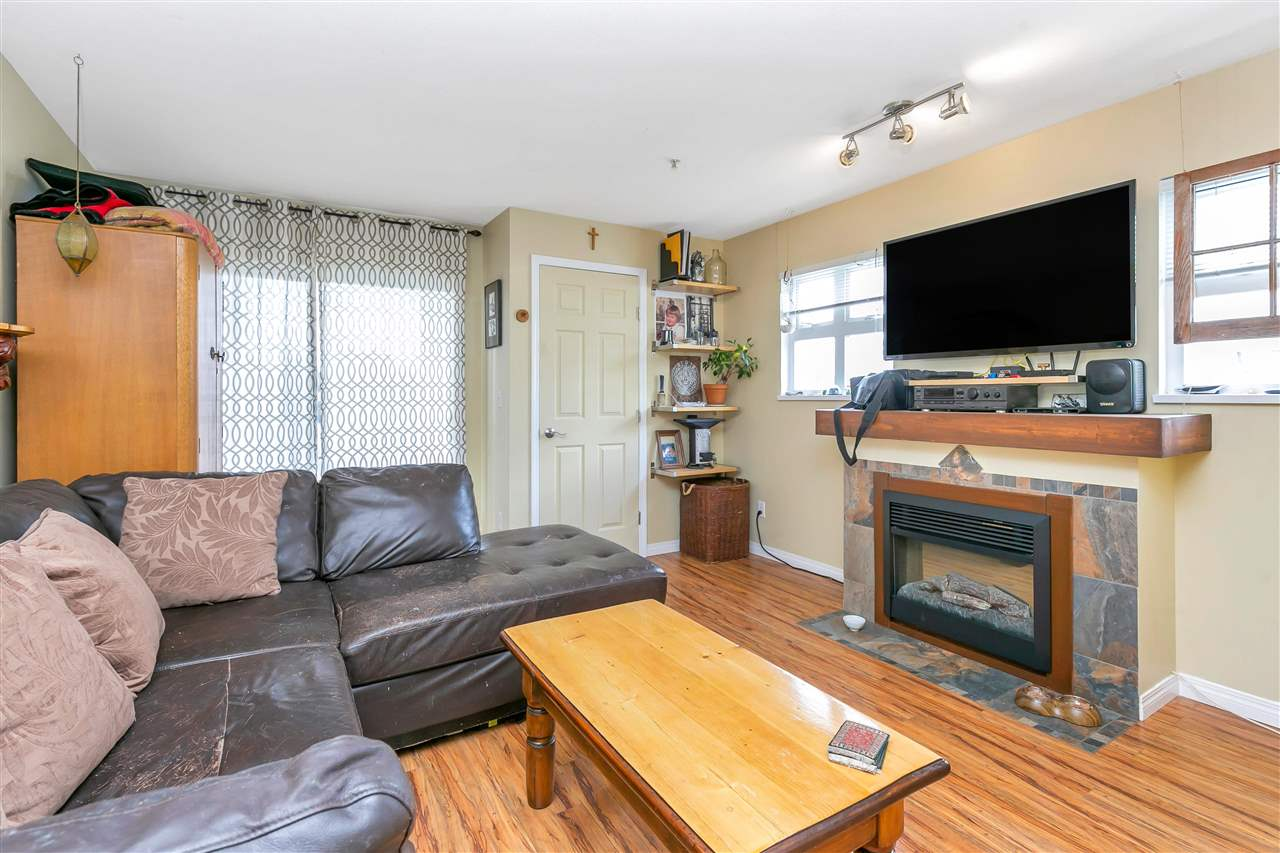 Great central location for this handy Bachelor/1 Bedroom condo on NW corner with a nice balcony.  The sleeping area is a small area, but you have a good sized living room and kitchen area.  Freshly painted, plus insuite washer & dryer. Building is well cared for & is close to all the shopping & conveniences on Victoria Dr.  1 parking spot plus secure bike storage, sorry no locker. Rentals allowed with restrictions. Pets allowed with restrictions. Open House: Friday, July 23 4pm-7pm & Saturday and Sunday, July 24 & July 25 - 12(noon) - 4pm