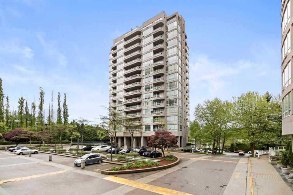 Location! Location! Location! This 2 bedrooms quiet corner unit offers open floor plan with spacious living & dining room that can easily accommodate most furniture, floor to ceiling windows with plenty of natural light. Complex features a gym, hot tub, sauna and tennis court! Amazing central location just off Lougheed Hwy, you are walking distance to skytrain, public transport, schools, SFU, shopping, restaurants and nature trails. Across the road you will find the manicured Keswick Park which has tennis & basketball courts, splash pad and playground for the kids. Perfect first home buyer or investment opportunity! Welcome Home!