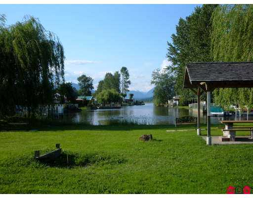 Enjoy this lovely RV lot right on the water at HATZIC LAKE. The best of everythi ng is here. New pipes, new above ground wiring, phone line. Double concrete PAD. Beautiful spot.