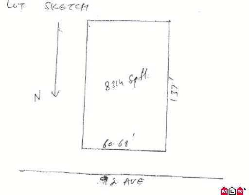 FLEETWOOD!!! Huge 61x127, 8314 sqft. Ready for construction, build your dream ho use. Lot will accomodate 2 storey home up to 3550 sqft. Call for more info.