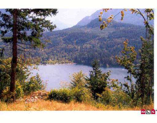 7.35 Acre lot w/breathtaking Kawkawa Lake view. Drilled well, legal access & geo teched bldg site. One of a kind prop, this is where u build your dream home. Log home pkg avail at discounted price to buyer. Nicest view in Fraser Valley