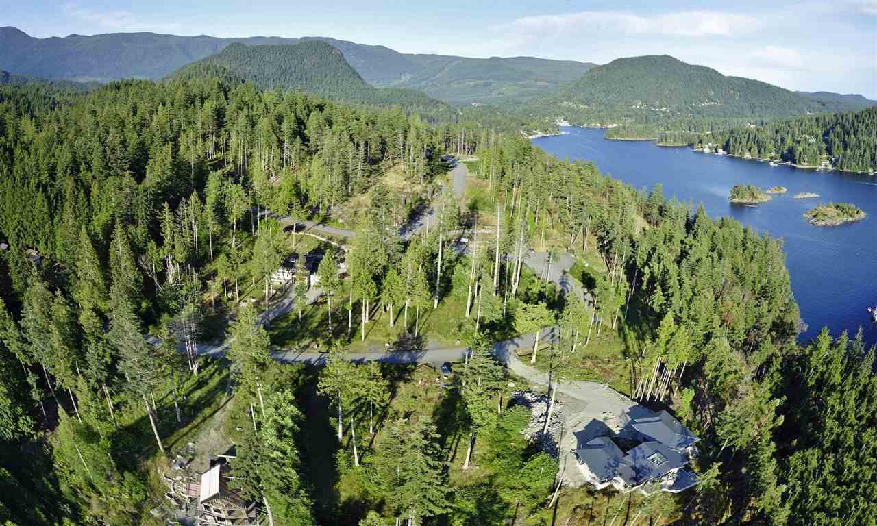 Exclusive Pender Harbour Landing Development, freehold, non-strata ownership; fully serviced underground & approx. 200 mtrs. to Ocean and Lake. Gentle slope, some site clearing & driveway in; treed privacy possible. GST applies.