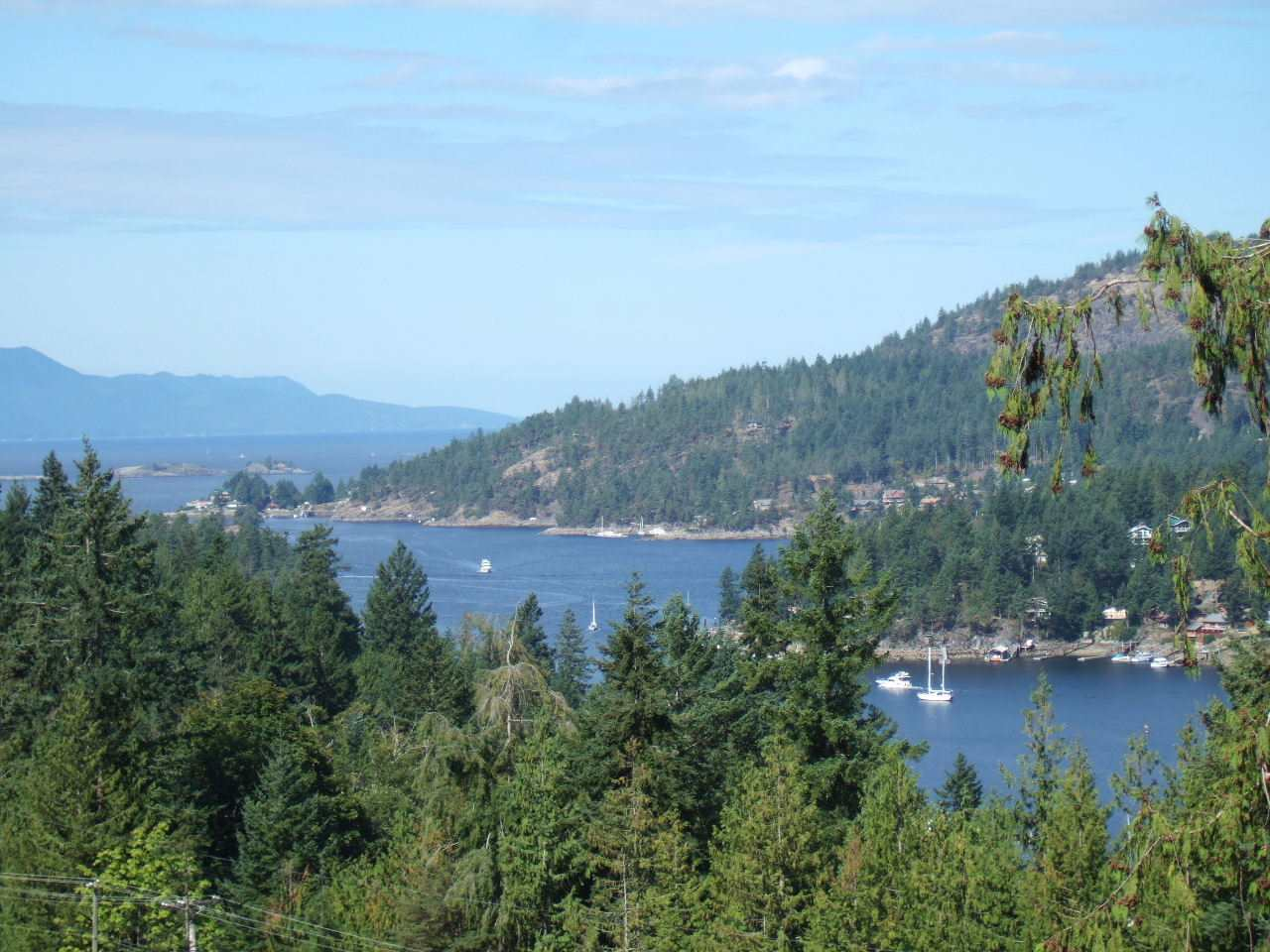 Awesome Westerly views of Pender Harbour and Malaspina Strait, from this 1/2 acre residential Building Lot in central Madeira Park. Freehold (fee simple) Ownership (no strata fees!) & location is within walking distance to village amenities including moorage and boat ramp. GST on Purchase Price.