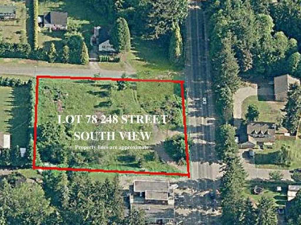 Seller said open to offers! Not in the ALR. High, Dry, Flat & usable 1.11 acres. Beautiful residential building site for your dream home. Located at the entrance of a quiet cul-de-sac on the corner of 55A Ave and 248 Street in Langley's Otter District. City Water out front on the street. No creeks or building restrictions. Easy to build on this sandy loam. Zoned SR-1. CALL NOW.