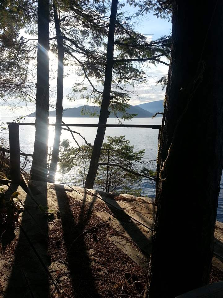 Here is a rare opportunity to secure .75 acre water access waterfront property on the west side of Bowen island. Accessible by boat or hike in. The property can support a septic system, is situated in a prime location for a dock and boasts 110 feet of frontage so building wont be a problem. This would make a great weekend getaway or off grid lifestyle opportunity. The western exposure offers great sunsets and lots of light and view is fantastic! We are considering the property as a bare land purchase but there is a small boathouse/studio and deck area at the waters edge that need tlc. Don't let this be the one you look back on and wish you'd bought!
