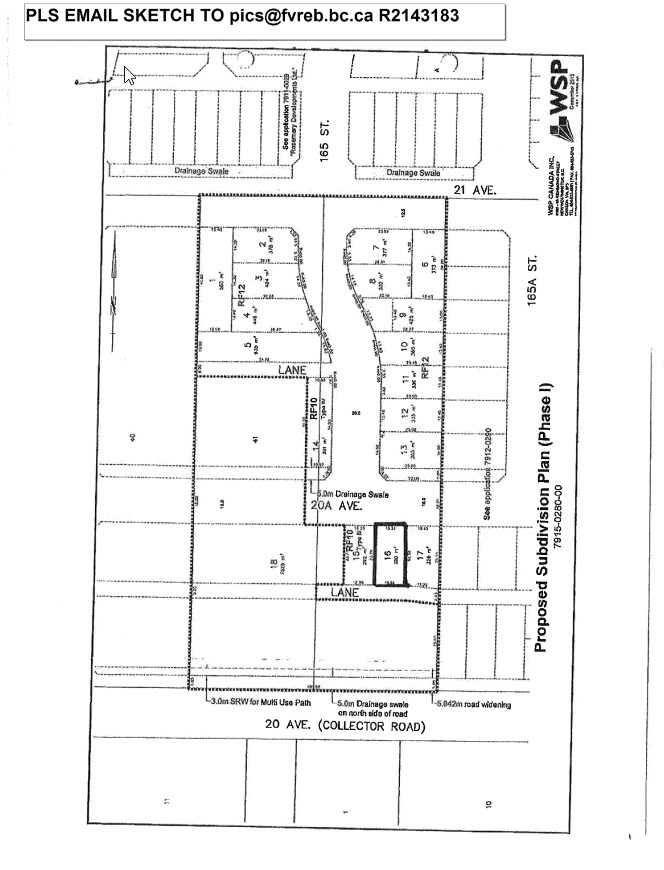South Surrey building lot in controlled subdivision. Ready to build on by June 2017. Call for listing package.