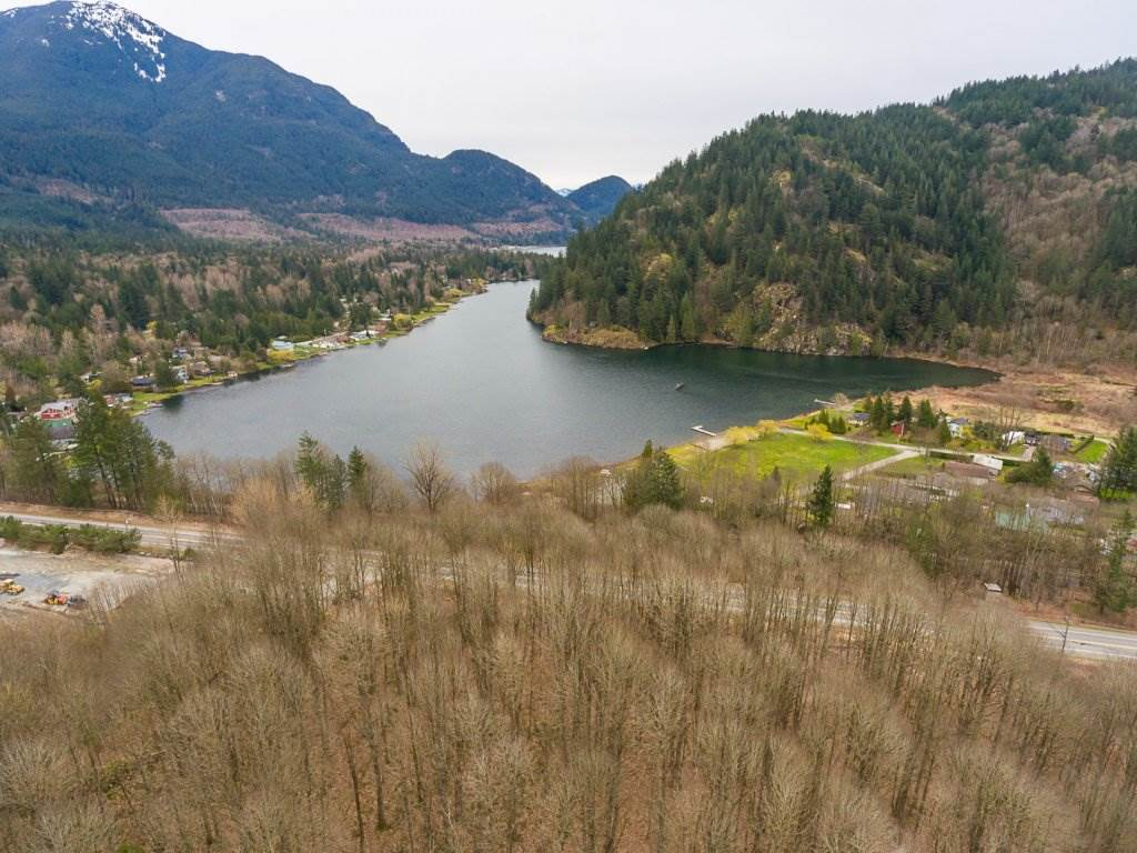 This treed 7.44 acre property must be sold with PID 012-051-88 See MLS # R2151436, #PCL C Lougheed Hwy8  which is another 1 acre. Combined 8.5 acres to build dream home. Across the street from Lake Erroch. Large sign on property. Please do not enter property without authorization.