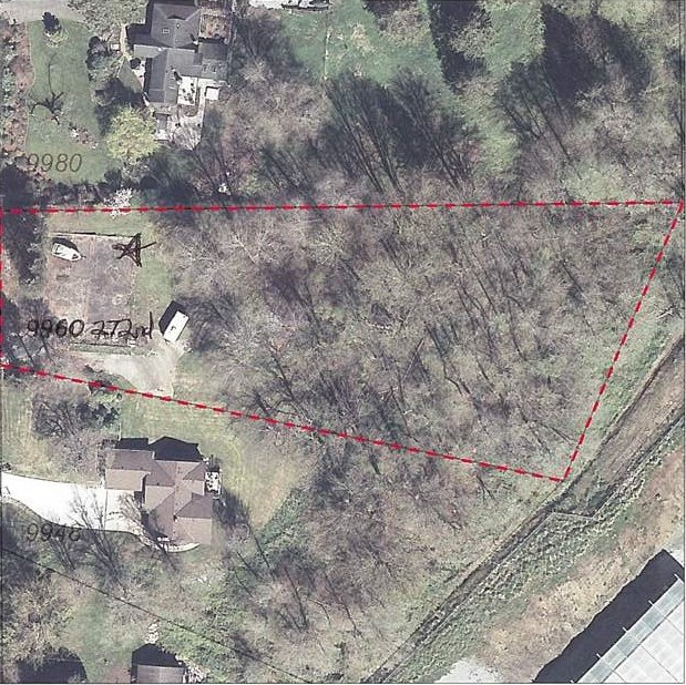 1.33 ACRE LOT! Come build your dream home and shop here. Property lends itself to a rancher or 2 storey with walk out basement at the back and there is lots of room for detached shop/ garage. Nice and private rural setting at the back of the property with mature trees.