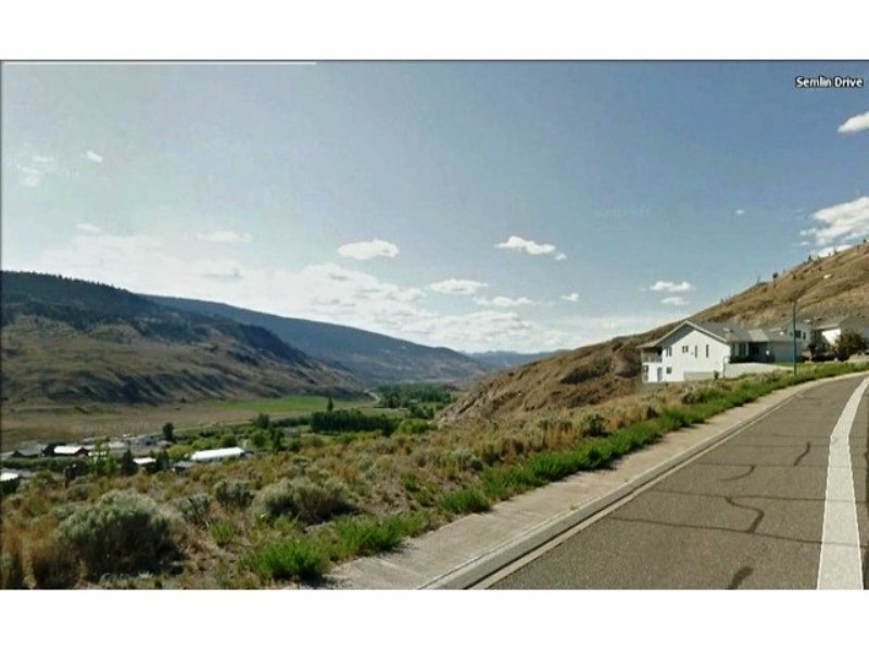 Good size building lot 65 x 115.  Located in a great subdivision of newer homes in the village of Cache Creek. Excellent views of the mountains & the Bonaparte Valley. Centrally located with underground services, gas, hydro, municipal water, sewer & garbage pick up. Close to Golf Course & recreation. Only 45 minutes to Kamloops. Great building lot for a building a Rancher with a daylight walk out basement. Nice quiet cul-de-sac.