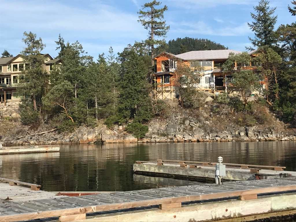 One of the nicest waterfront lots in Farrington Cove.  West facing with sunsets all year long.  Good deep water moorage available in the community marina. The Garden Bay area of Pender Harbour is home to many lakes, hiking and biking trails and of course all the recreation of the ocean right at your doorstep. Come build your dream house.