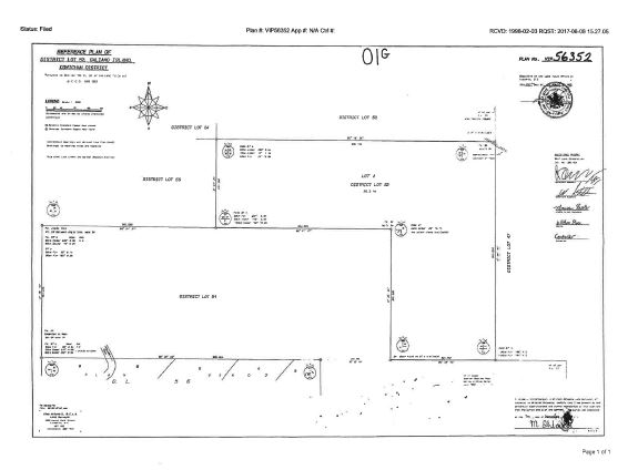 Ocean view lot of 75 acres. Views of Georgia Strait. Hill top has southern exposure. Very private, access only by way of private easement. Note (F1 zoned no residential use must be rezoned for any residential use).