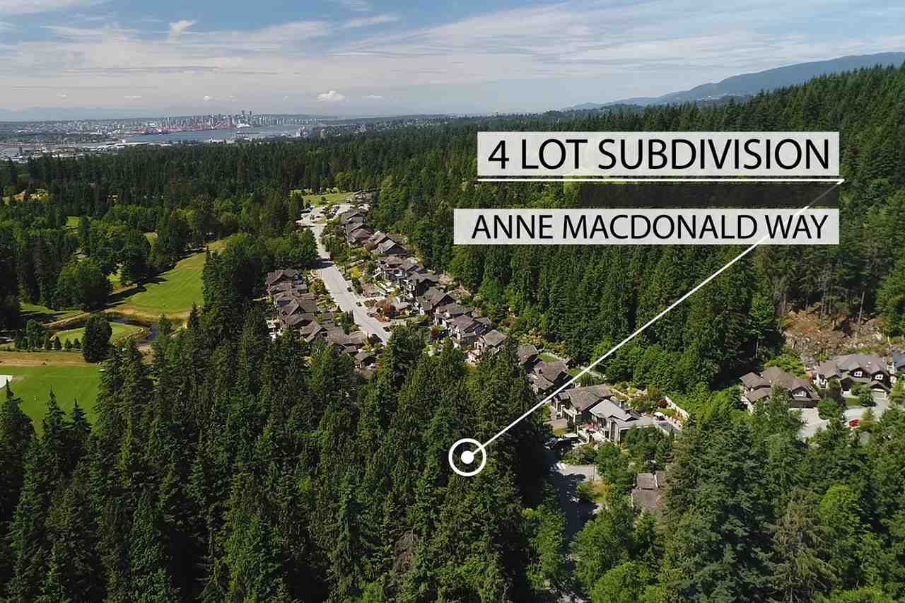 Prime North Vancouver development site located on prestigious Anne MacDonald Way. This 4 lot development project is situated in the heart of a family oriented community with abundant recreational amenities. Located in North Vancouver's desirable Seymour neighborhood, residents are minutes to Northlands & Mount Seymour Golf courses and a five minute drive to Deep Cove and Mount Seymour Provincial Park. The property is walking distance to the Parkgate Community Centre and all the amenities of Parkgate Village. This development is only 30 minutes from downtown Vancouver, Stanley Park and the world class educational facilities of UBC and SFU. Call LS for a detailed development package.