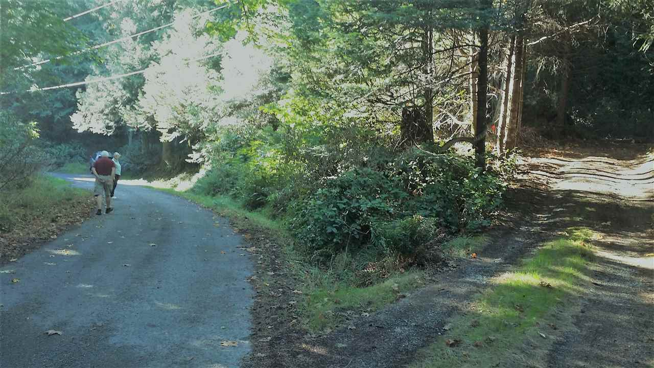 Peaceful and natural, this 1.28 acres is richly treed old forest with tall canopy and minimal underbrush. Well defined road access. Property has never been developed. Just across the road to public beach access & beautiful pristine beach area. Private,sunny setting & quiet cul-de-sac road.Enjoy the ambience of a classic Gulf Island with small shops, restaurants, schools, parks, beaches, marina, library, grocery & local markets, wineries, tennis, orchards, coffee shops & the comfort of services from fire rescue, medical, vet, bus, taxi, pharmacy, post office, senior center & local car pools plus BC Ferry access 10 minutes away by car & Schwartz Bay, Victoria 45 minutes by ferry. A romantic hide-away in a charming community. Note:Aerial map shows lot by smudged yellow arrow, not red markers.
