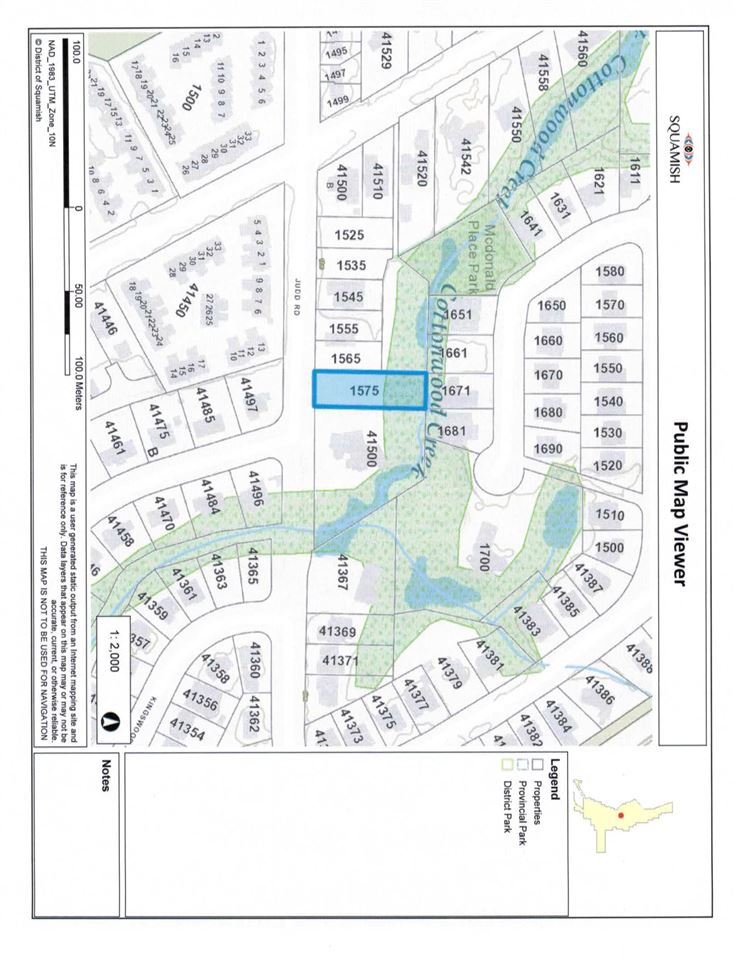 HUGE LEVEL RESIDENTIAL BUILDING LOT in the HEART  of SUNNY BRACKENDALE, frontage 70xdepth 216 (approximately .351 acre), with services and driveway off Judd Road, ready to build. Home and detached carriage house permitted. Beautiful quiet neighborhood close to walking/biking trails, shopping & schools. Don't miss this opportunity to build your dream home in a well established and desirable area, once you live here you will never want to move. Easy access to Highway 99 for Whistler enthusiasts and those commuting to Vancouver.